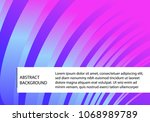 abstract colorful business... | Shutterstock .eps vector #1068989789