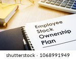 documents with title employee... | Shutterstock . vector #1068991949