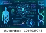 health care and medical... | Shutterstock .eps vector #1069039745