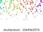 light multicolor  rainbow... | Shutterstock .eps vector #1069063574