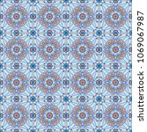 seamless pattern modern stylish ... | Shutterstock . vector #1069067987