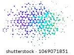 light multicolor  rainbow... | Shutterstock .eps vector #1069071851