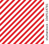 red stripped seamless pattern.... | Shutterstock .eps vector #1069114781