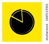 pie diagram icon vector | Shutterstock .eps vector #1069115501