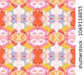 abstract grunge seamless... | Shutterstock . vector #1069118855