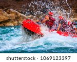 Young Person Rafting On The...