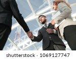 successful business people... | Shutterstock . vector #1069127747