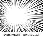 background of radial speed... | Shutterstock .eps vector #1069129661