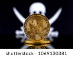 physical version of monero  xmr ... | Shutterstock . vector #1069130381