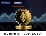 physical version of ethereum ... | Shutterstock . vector #1069131629