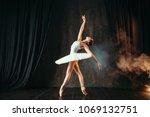 Ballerina In White Dress...