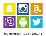 valencia  spain   august 01 ...   Shutterstock . vector #1069138241
