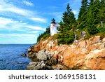 Bass Harbor Head Light In Maine