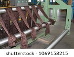 Small photo of Production process for the production of brown colored synthetic acrylic fiber at a chemical plant