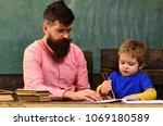 art class for toddler ... | Shutterstock . vector #1069180589