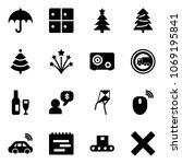 solid vector icon set  ...   Shutterstock .eps vector #1069195841
