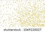 golden confetti. festive... | Shutterstock .eps vector #1069220027