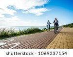 healthy lifestyle   people... | Shutterstock . vector #1069237154