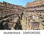 colosseum inside  rome | Shutterstock . vector #1069240181