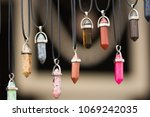 Necklaces Made Of Various...