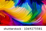 color in motion series. design... | Shutterstock . vector #1069275581