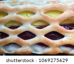 macro photo of grid like pie... | Shutterstock . vector #1069275629