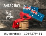 anzac day   australian and new... | Shutterstock . vector #1069279451