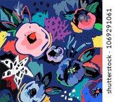 creative universal artistic... | Shutterstock .eps vector #1069291061