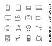 electronic device set icon...