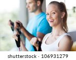couple at the gym | Shutterstock . vector #106931279
