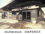 Gas Station Burned Out During...