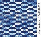 vector geometric seamless...   Shutterstock .eps vector #1069348895