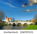 Baroque Bridge And The River...