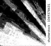 black and white grunge stripe... | Shutterstock .eps vector #1069378631
