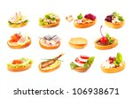tasty sandwiches | Shutterstock . vector #106938671