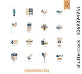 4th of july  independence day... | Shutterstock .eps vector #1069394951