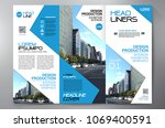 business brochure. flyer design.... | Shutterstock .eps vector #1069400591