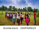 gumla india 5 september 2017...   Shutterstock . vector #1069400624