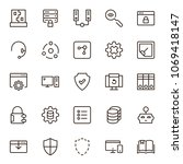 programming icon set....