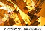beautiful orange illustration... | Shutterstock . vector #1069433699