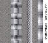 elegant english stripped tweed... | Shutterstock .eps vector #1069489544