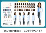 scientist character creation... | Shutterstock .eps vector #1069491467