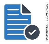 check tick document