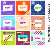 set of trendy abstract...   Shutterstock .eps vector #1069522391