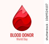 World Blood Donor Day Vector...