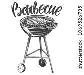 food meat  steak  roast grilled ...   Shutterstock .eps vector #1069526735