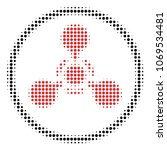 wmd nerve agent chemical... | Shutterstock .eps vector #1069534481