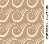 vector seamless pattern with... | Shutterstock .eps vector #106954589