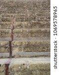 naples italy pompeii roman... | Shutterstock . vector #1069578965