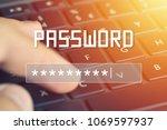 Password Input On Blurred...